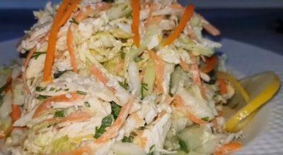 Этот салат можно есть даже ночью. Идеальное сочетание продуктов
