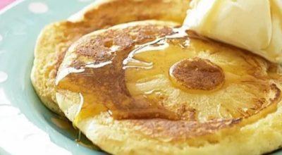 Необычный завтрак: витаминные оладьи-перевертыши