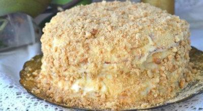 Торт «Наполеон» приготовленный на сковородке. Мой любимый рецепт