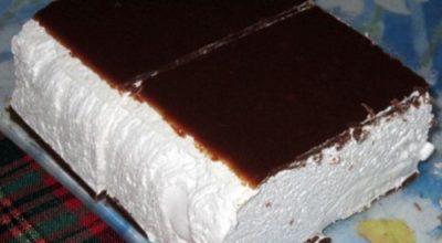 Торт «Птичье молоко» в домашних условиях