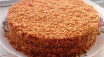 Вкуснейший торт на сгущенке