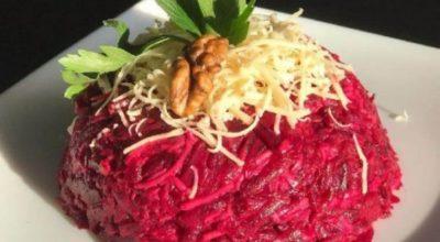 Cвекольный салат по-итальянски. Апельсиновая заправка меняет вкус главного овоща до неузнаваемости