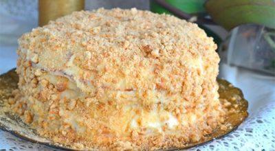 """Обалденный торт """"Пломбир"""" – и духовка не нужна"""