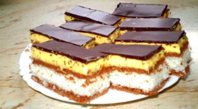 """Пирожное """"Баунти"""": так просто приготовить этот нежный десерт. Вкус, который напомнит вам о райском наслаждении"""