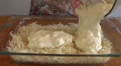 Картофельная запеканка, которая сводит с ума своим вкусом
