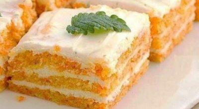 Вкуснейший морковный торт. Ем сколько влезет, а талия как у балерины