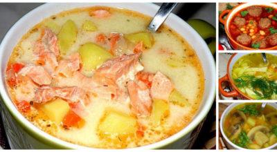 10 отличных рецептов самых вкусных супчиков