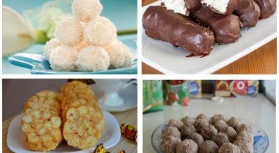 Дюжина простых и вкусных сладостей без выпечки