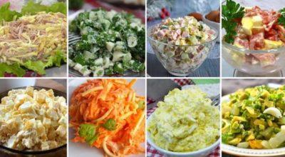 10 рецептов ярких яичных салатов на любой вкус