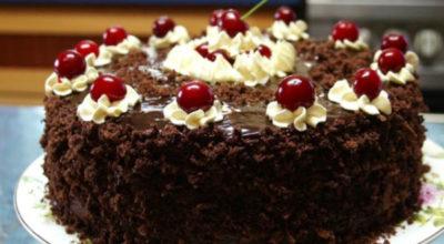 Божественно вкусный торт «Пьяная вишня в шоколаде»: невероятное наслаждение