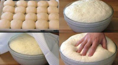 Быстрое дрожжевое тесто на воде, но без яиц: простота, удобство и вкус в одном рецепте