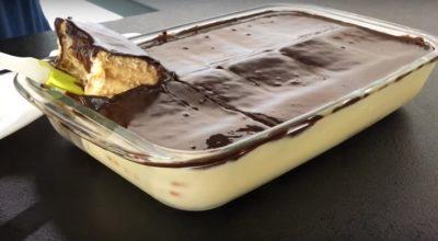 Быстрый рецепт заливного десерта без выпечки