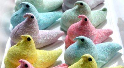 Эффектные пасхальные конфеты