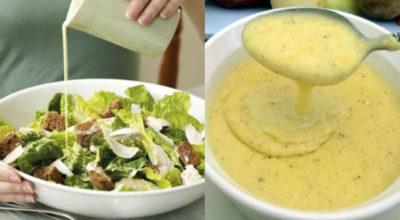 Главной изюминкой салата является, конечно, соус. Мы подобрали для вас 5 лучших соусов