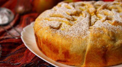 Пирог с яблоками и творогом: пошаговый рецепт с фото