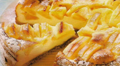 Пошаговый рецепт: Яблочный пирог на молоке. Очень просто и вкусно