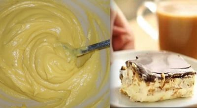 Простой и изысканный торт «Эклер», который не нужно выпекать