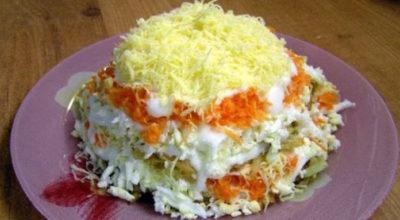 Соблазнительно аппетитный французский салат — легкий, и очень вкусный