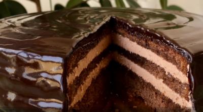 Торт «Прага» пошаговый рецепт приготовления