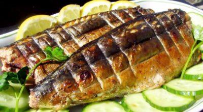 Вкуснейшая скумбрия за 3 минуты. Золотистая рыбка без всякой химии и коптильни