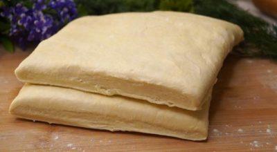 Готовлю слоеное тесто теперь только так. Слоистое и готовится за 10 минут