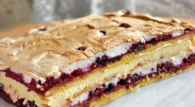 Как приготовить настоящий польский пляцок «Pani Walevska» (Пани Валевская)