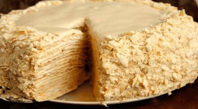 Крем для торта «Наполеон». 3 рецепта