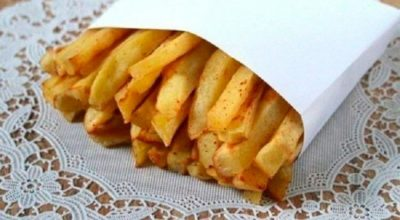 Такую картошечку фри, можно готовить детям хоть каждый день. Без капли жира