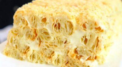 Торт всего из 3 ингредиентов – лучше Наполеона. Этот десерт – сама нежность