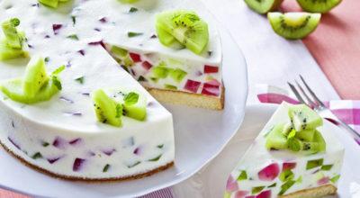 Торт с желе и фруктами: необычайно нежный вкус