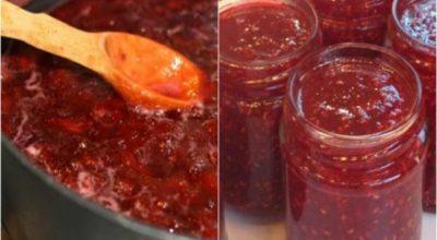 Варенье-пятиминутка из любых ягод — все витамины на месте. Вкуснятина