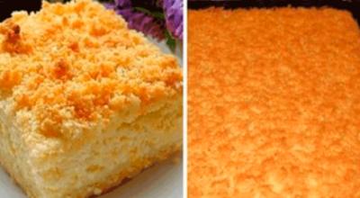 Вкуснейший тертый пирог с творогом