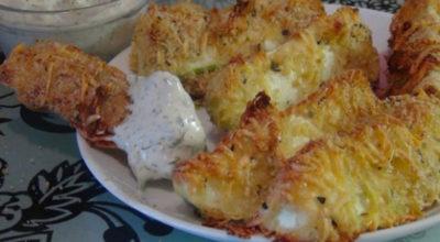 Вкусные, хрустящие, изумительные кабачки в сырной панировке обязательно понравятся вам и вашей семье