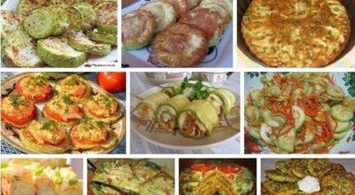Восхитительная подборка рецептов из кабачков