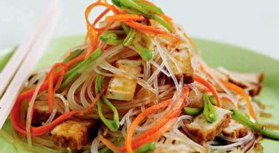 5 невероятно вкусных рецептов с рисовой лапшой