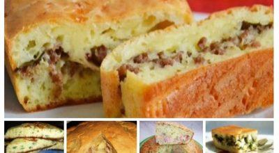 5 Самых быстрых пирогов с разной начинкой