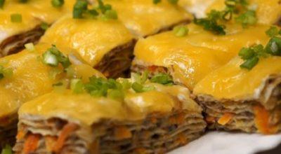 Безумно вкусная и нежная закуска из лаваша: все будут сытыми и довольными