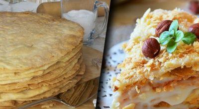 Как приготовить нежный и хрустящий торт «Степка-растрепка»