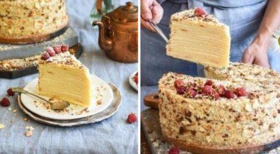 Как приготовить вкусный торт с творожными коржами