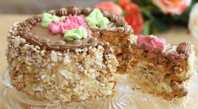 Легендарный Киевский торт: Очень вкусно