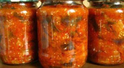 Обалденное лечо из баклажанов, помидоров и перца: рецепт на зиму