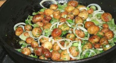 Очень вкусный вариант приготовления молодого картофеля