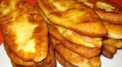 Пирожки-лопаточки. Быстрые пирожки на кефире с картошкой