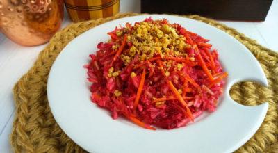 Диетический салат «Щетка»