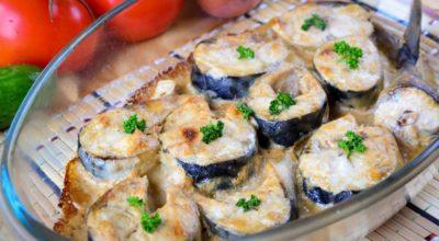 Вкусная скумбрия запеченная в духовке: пошаговый рецепт с фото