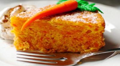 Вкусный кекс из моркови