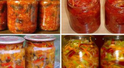 14 овощных салатов на зиму. Сохрани эти рецепты