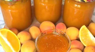 Абрикосовый джем с апельсинами