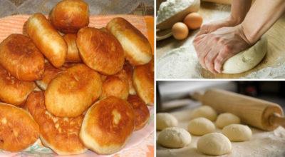 Бабушкины пирожки. 4 проверенных рецепта приготовления теста