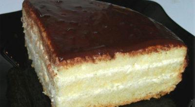 Бисквитный торт «Чародейка». Тот самый вкус детства